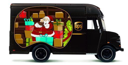 UPS_Christmas_Truck
